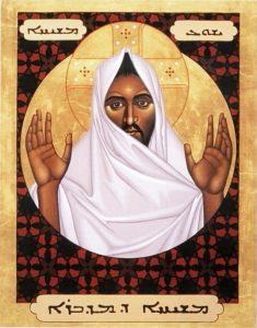 """""""Christ of the desert,"""" by Fr. Robert Lentz, OFM"""