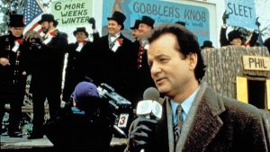 "Bill Murray in ""Groundhog Day"""