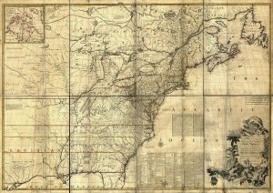 """Mitchell Map - A map of the British and French dominions in North America, 1757,"" Library of Congress"