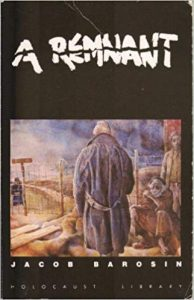 """A Remnant,"" memoir of Jacob Barosin"