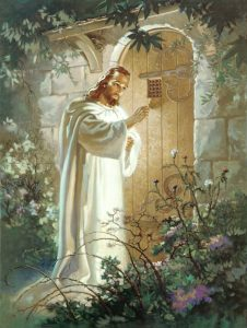 """Christ at the Heart's Door, "" Warnber Sallman"