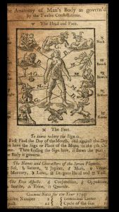 "Page from ""Poor Richard's Almanack, 1749"
