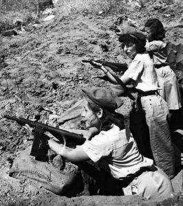 Women fighters of Haganah, 1948