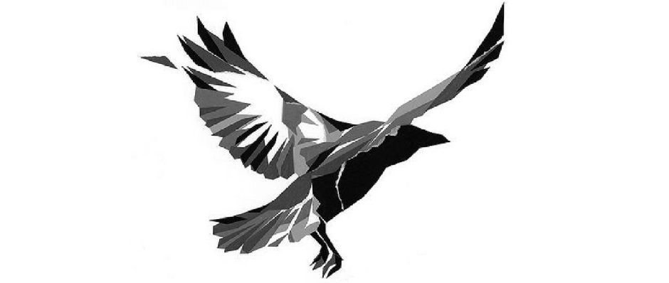 Flying crow (1024px)