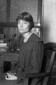 """""""Dorothy Day, American journalist, social activist and Catholic convert,"""" Unknown photographer (1916)"""